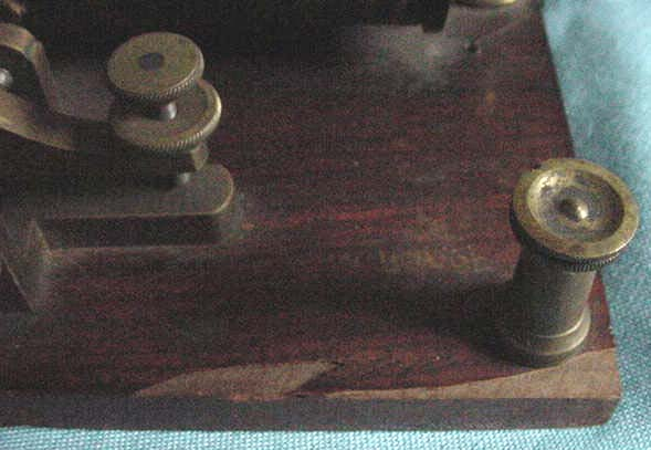 TELEGRAPH KEY MUSEUM COLLECTION INDEX AND TRADE LIST