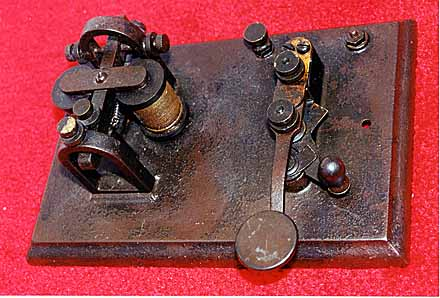 POST - 1881 TELEGRAPH EQUIPMENT - TELEGRAPH & SCI INSTRUMENT